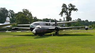 Martin RB-57A Canberra & Fairchild C-119C Flying Boxcar