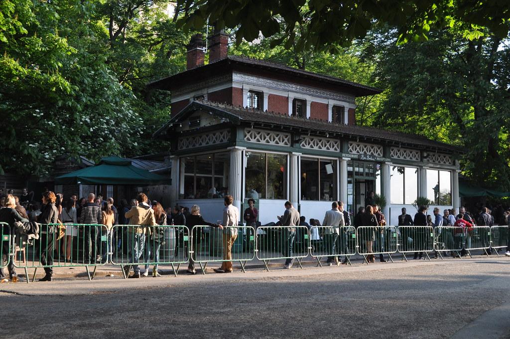 Restaurant Rosa Bonheur Paris