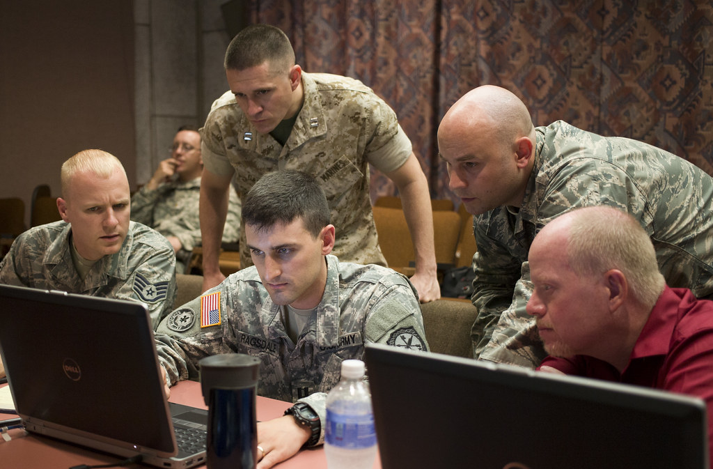 Joint Operations train against cyber war   FORT GORDON ...