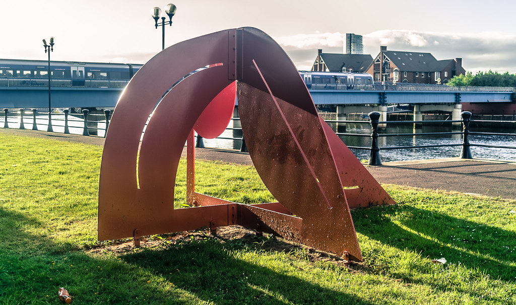 PHOTOGRAPHED JUNE 2014 - GREENLAND A SCULPTURE BY BOB SLOAN 005