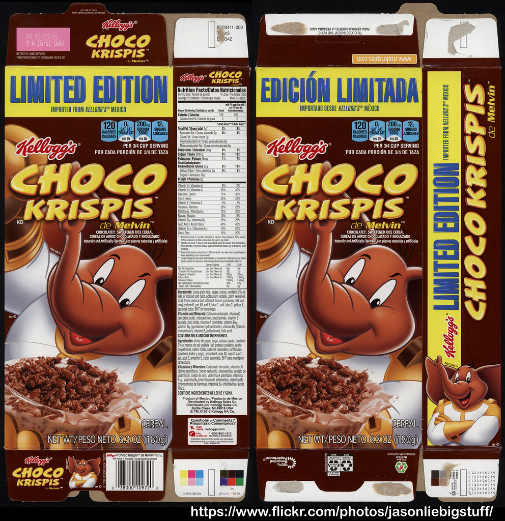 Uncategorized Choco Krispis kelloggs imported from mexico choco krispis de flickr