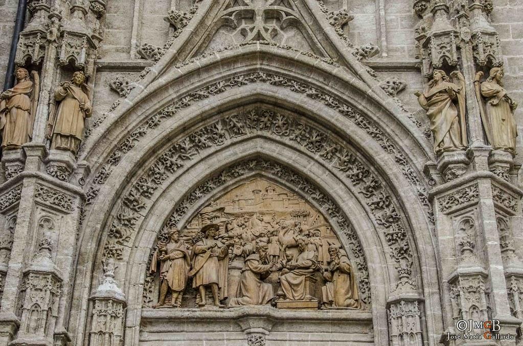 Catedral de santa mar a de la sede exterior sevilla for Exterior catedral de sevilla