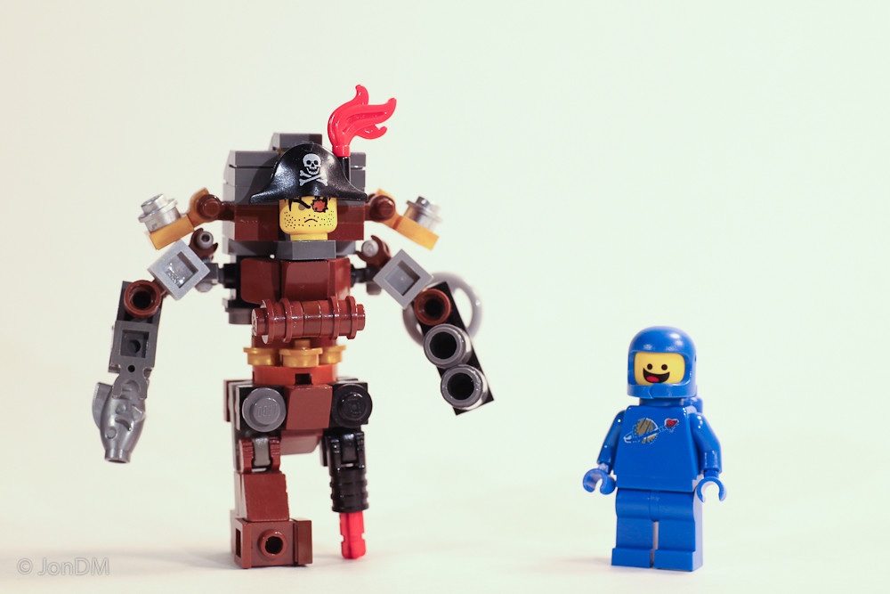Silliness >> Mini MetalBeard MOC | Silly Silliness. I built this little M… | Flickr