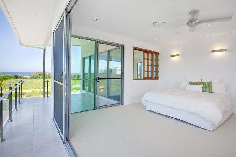 Bedroom With Aluminium Sliding Doors 3 Betaview Modern