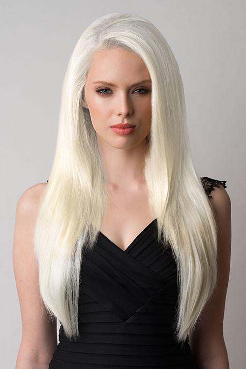 Half Wig Ab26 Platinum Blonde 1001 Annabelle Flickr