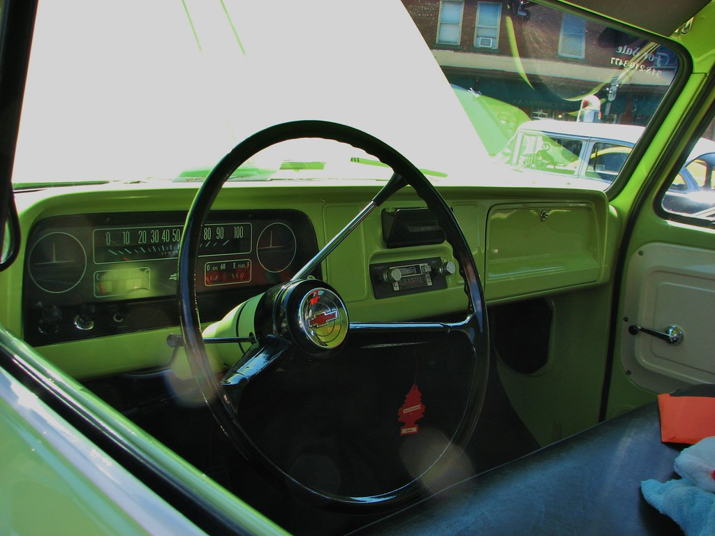 A 1964 Chevy C 10 Dash In July 2014 Seen At The 2014
