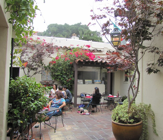 Courtyard at Little Napoli Ristorante