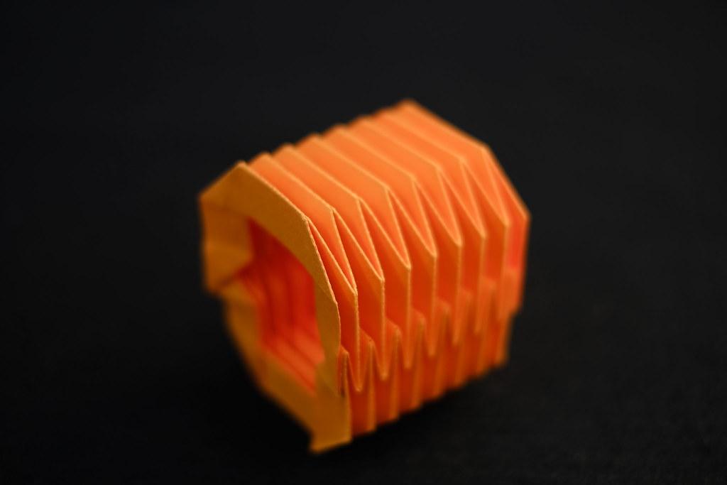 Rigid Origami Tube (Tachi-Miura 2009)   Tomohiro Tachi ... - photo#29