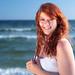 Amanda on the Beach