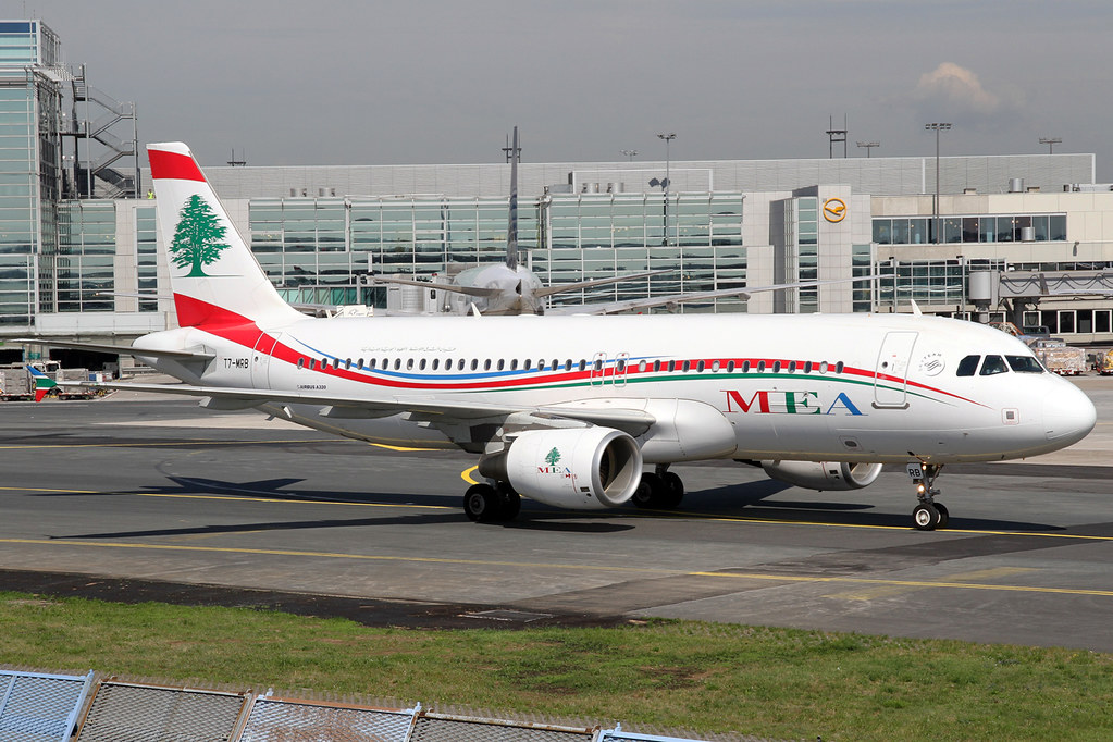 MEA - Middle East Airlines Airbus A320-214 T7-MRB FRA 17-0 ...