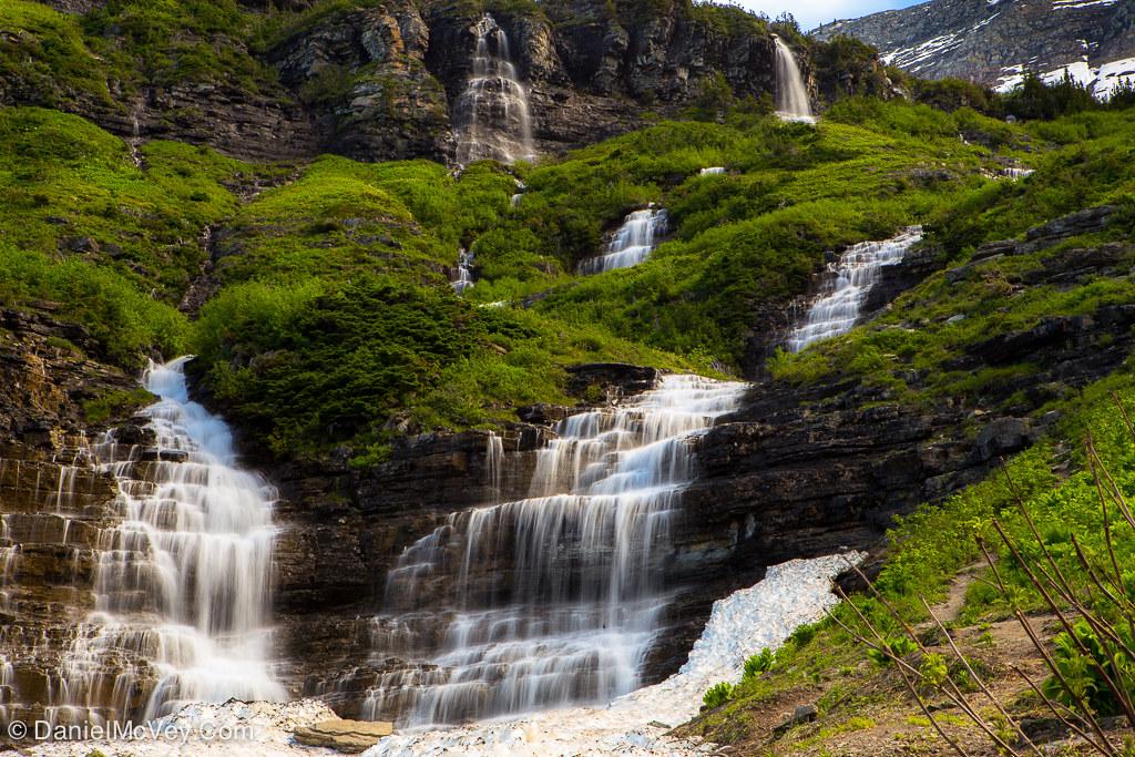 Garden Wall Gnp Garden Wall At Glacier National Park Mont Daniel Mcvey Flickr