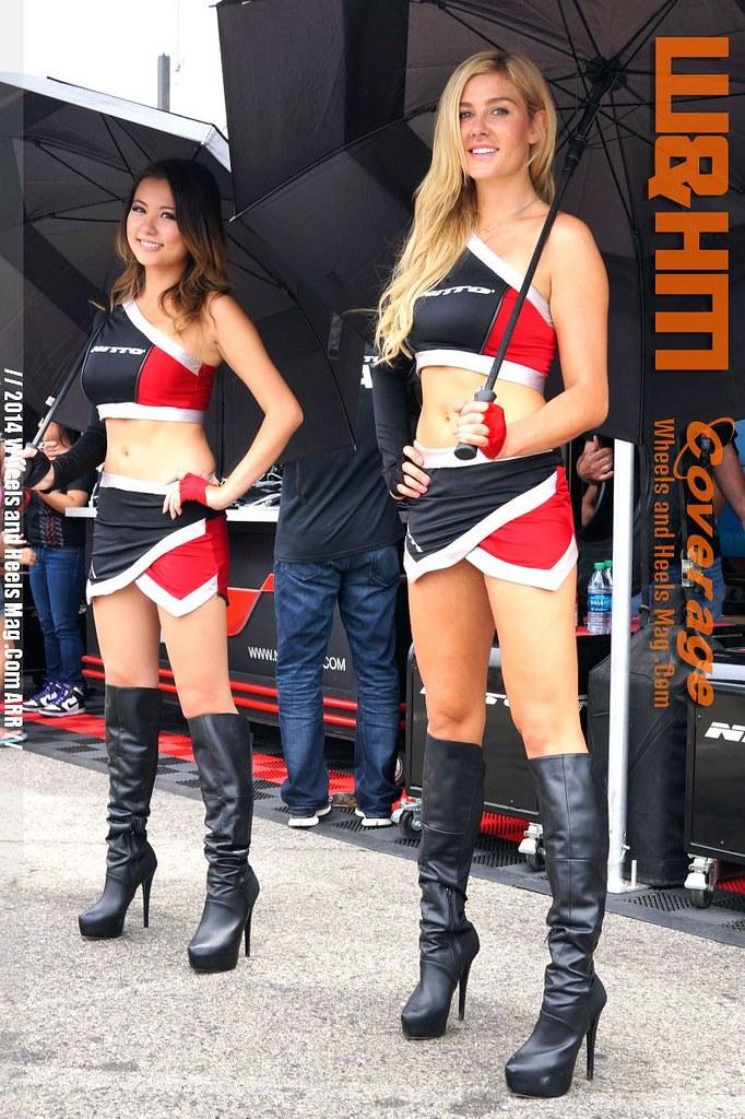 Gina Darling and Natalie Paladin Model for Nitto Tires at … | Flickr