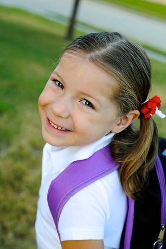 Cheyenne's First Day of Kindergarten