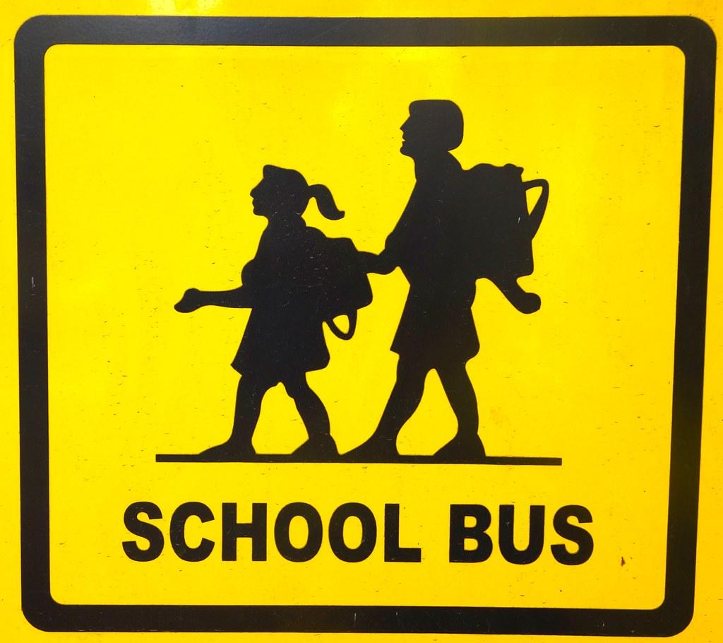 mumbai school bus sign chris 9 flickr