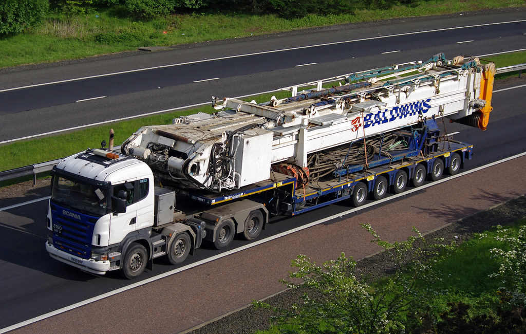 Telescopic Crane Hire : Baldwins crane hire scania r rx bdf and telescopic cra