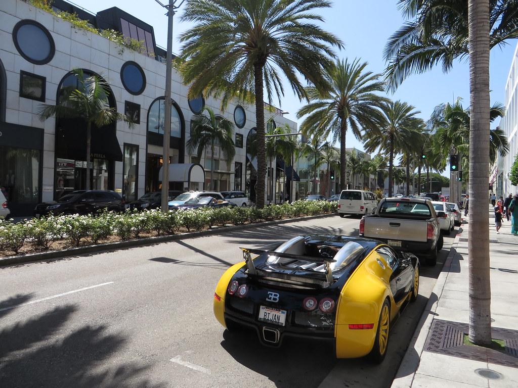 Bijans Bugatti Veyron Rodeo Drive Beverly Hills Califor