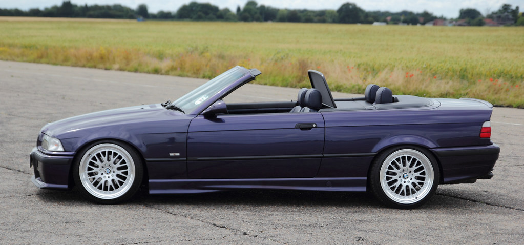 Bmw E36 328i Convertible Techno Violet Cliff Judson