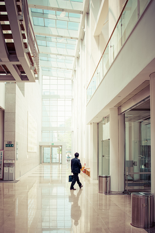 Working Day: Man In Suite Walking