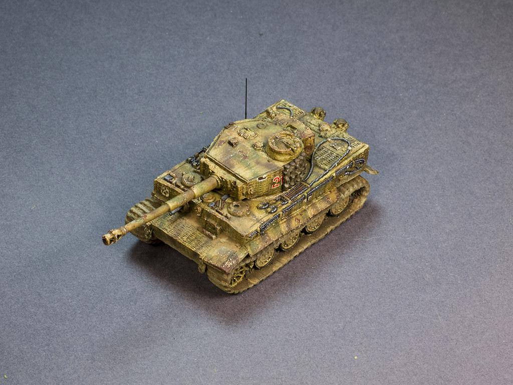 Flames of War Tiger tank Wessel