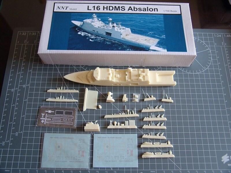 HDMS Absalon L16 Navire de Soutien Multifonctions NNT 1/700  14877915672_094515036d_c
