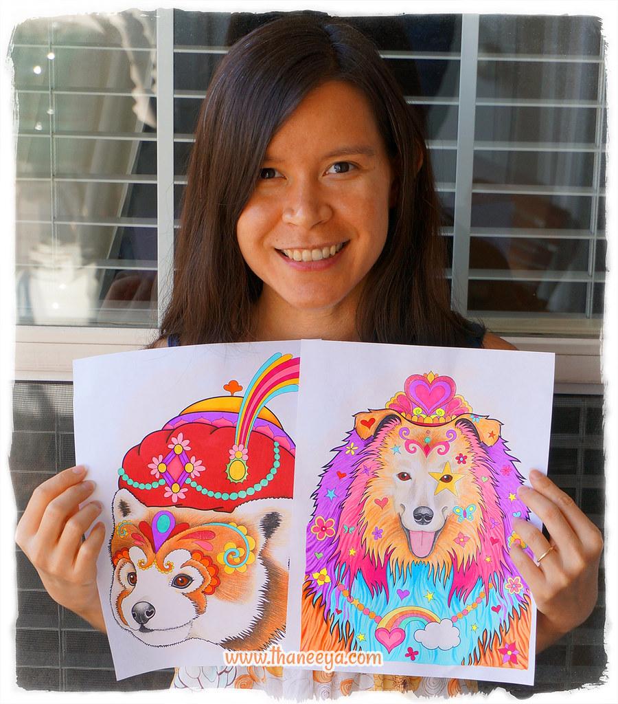 Dapper Animal Drawings By Thaneeya McArdle