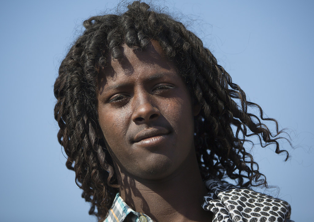 Afar Tribe Man With Curly Hair Assayta Ethiopia 169 Eric