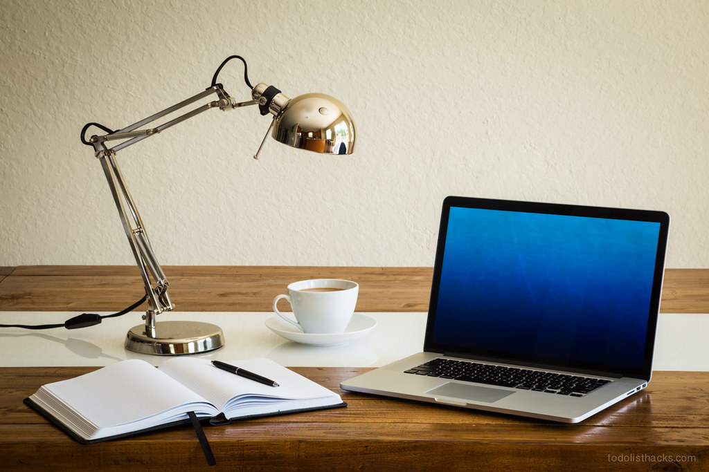 Organized work desk   Kick-start your work day with a ...