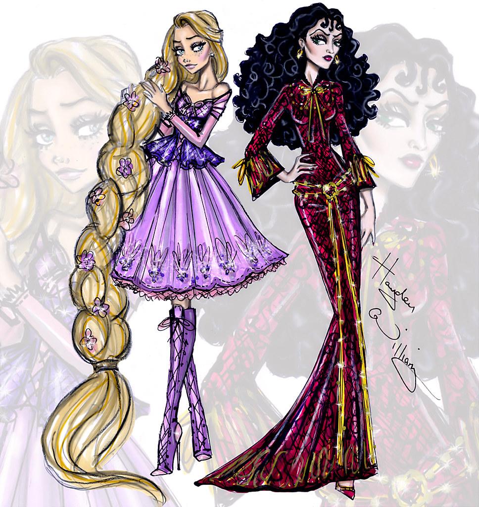 Disney Princess Vogue Hayden Williams Images