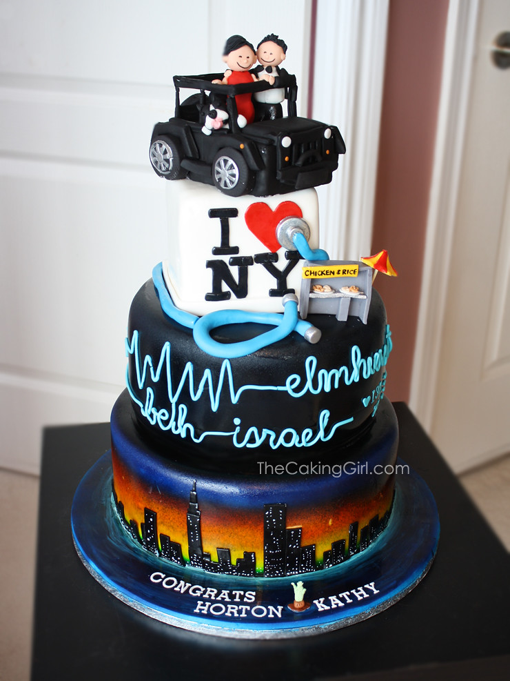 New York City Theme Wedding Cake Visit My Blog At Www