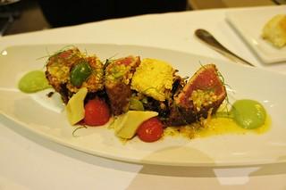 Harissa Charred Yellowfin Tuna