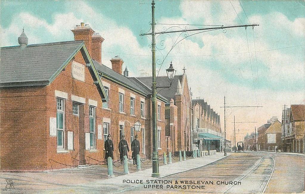 police station  u0026 weslyan church  b306 ashley road  upper p u2026