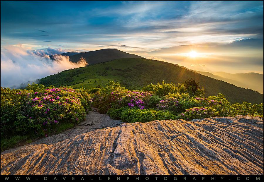 Appalachian Trail Sunset North Carolina Landscape Photog