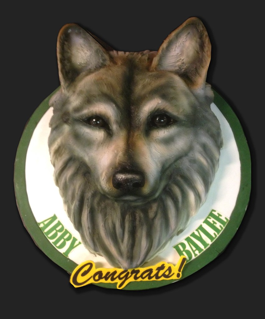 Wolf Cake Pan