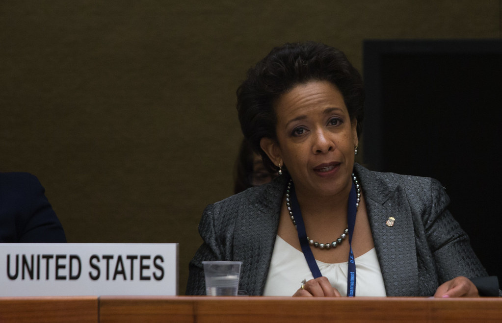 United States Attorney General Loretta Lynch