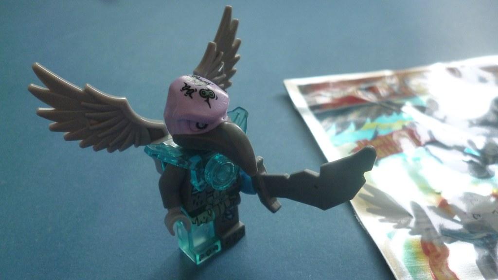 Lego Chima Vornon Vornon Wojownik s p w Magazyn Lego Chima 8 2014 7