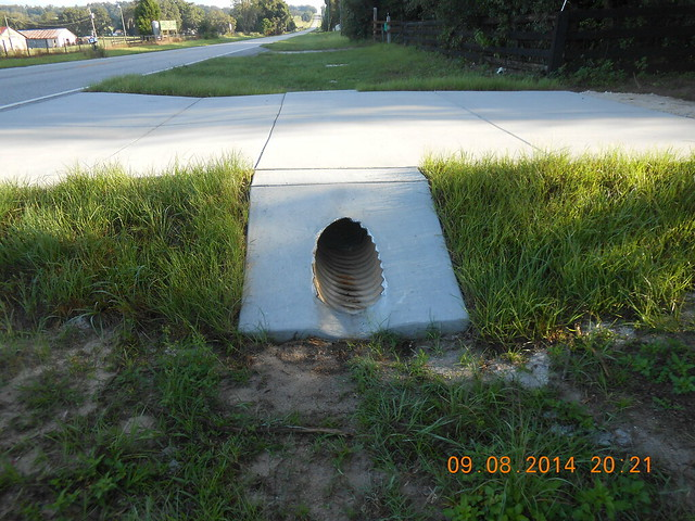 Driveway Apron Drain Culvert An Album On Flickr