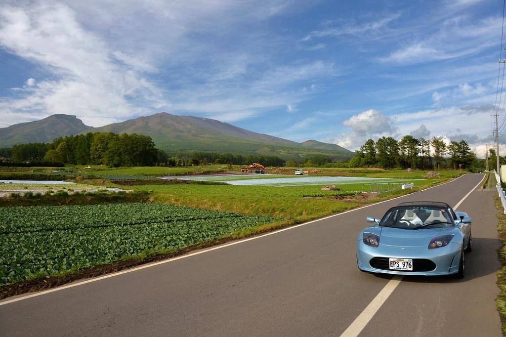 Tesla Roadster Asamayama Japan Raneko Flickr