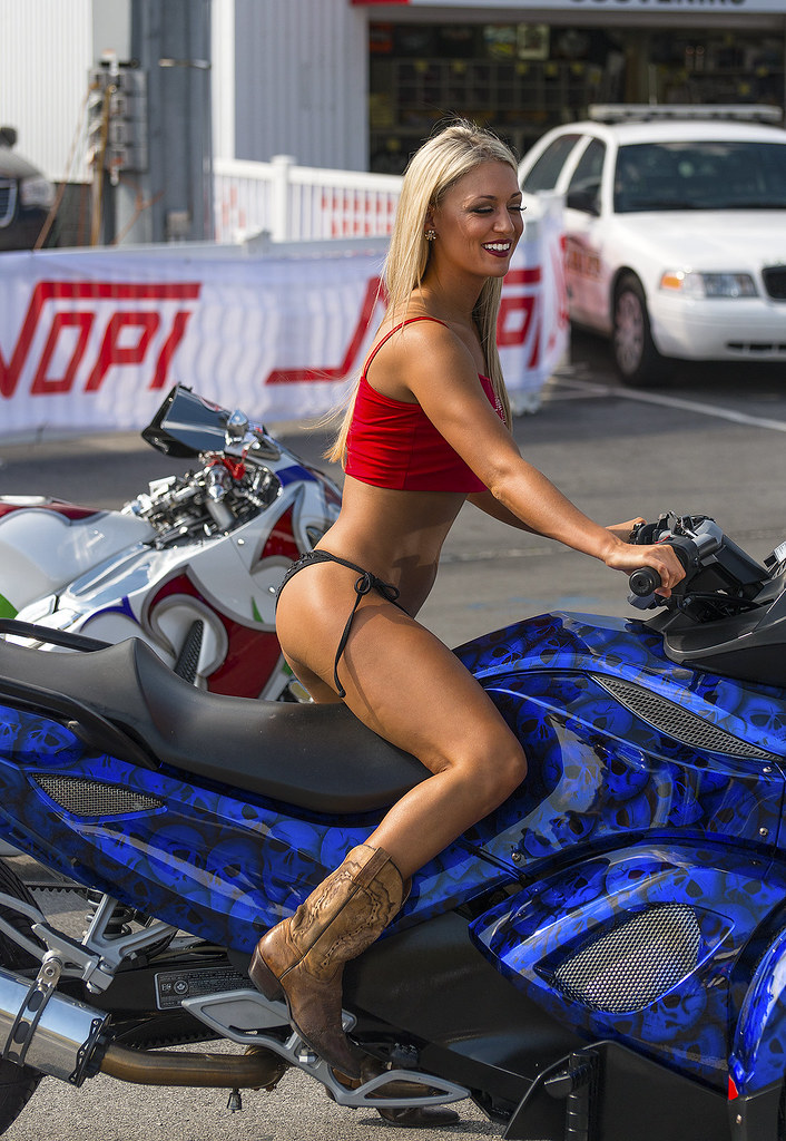 Brp Can Am >> NOPI Chic on a Can Am Spyder | During the 2014 Bristol NOPI … | Flickr