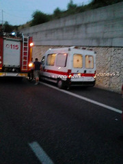 incidente a3 sicignano 4
