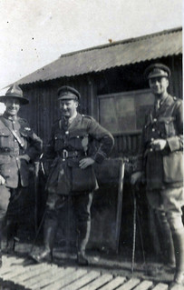 Officers in charge of Chinese Hut