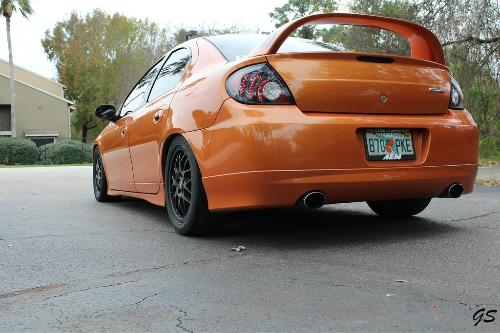 05 dodge neon srt4 acr orange blast george sada flickr. Black Bedroom Furniture Sets. Home Design Ideas