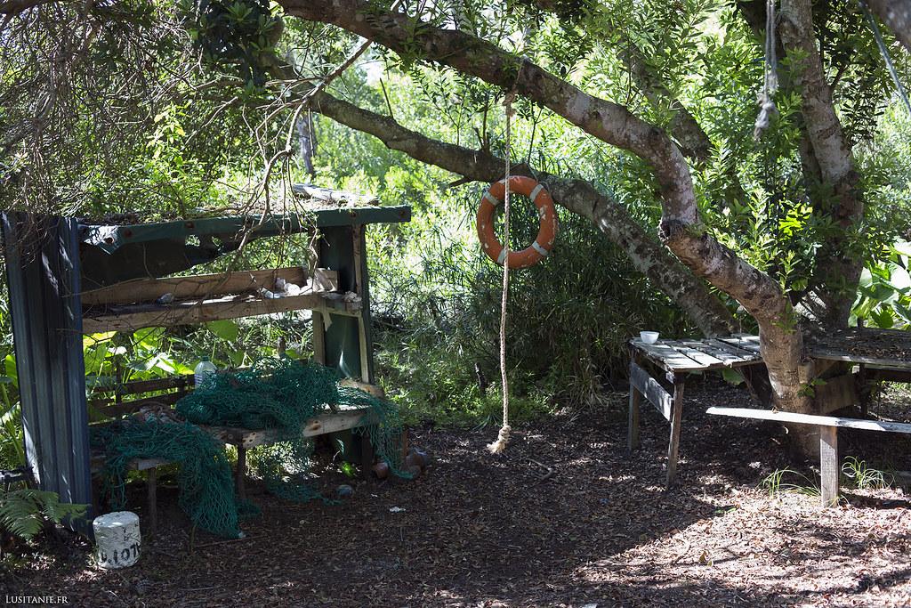 La Fonte dos Agriões, ou Fontaine du Cresson, du nom de la plante qui y pousse. Les chasseurs viennent ici casser la croûte.