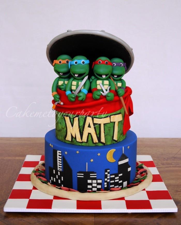 teenage mutant ninja turtle cake wwwfacebookcom