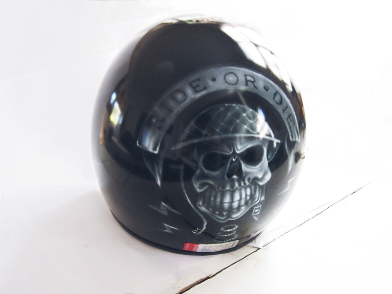 Custom Painted Helmet ROD