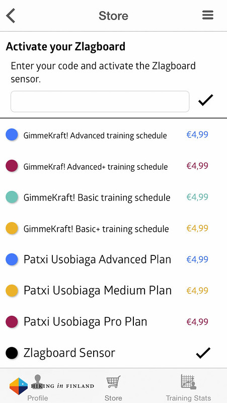 Training Plans for Purchase in the Zlagboard Store