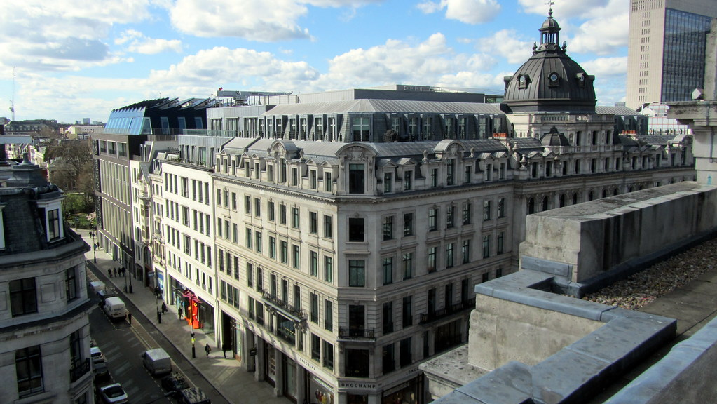 View from Aqua Spirit rooftop bar, Regent Street | David ...