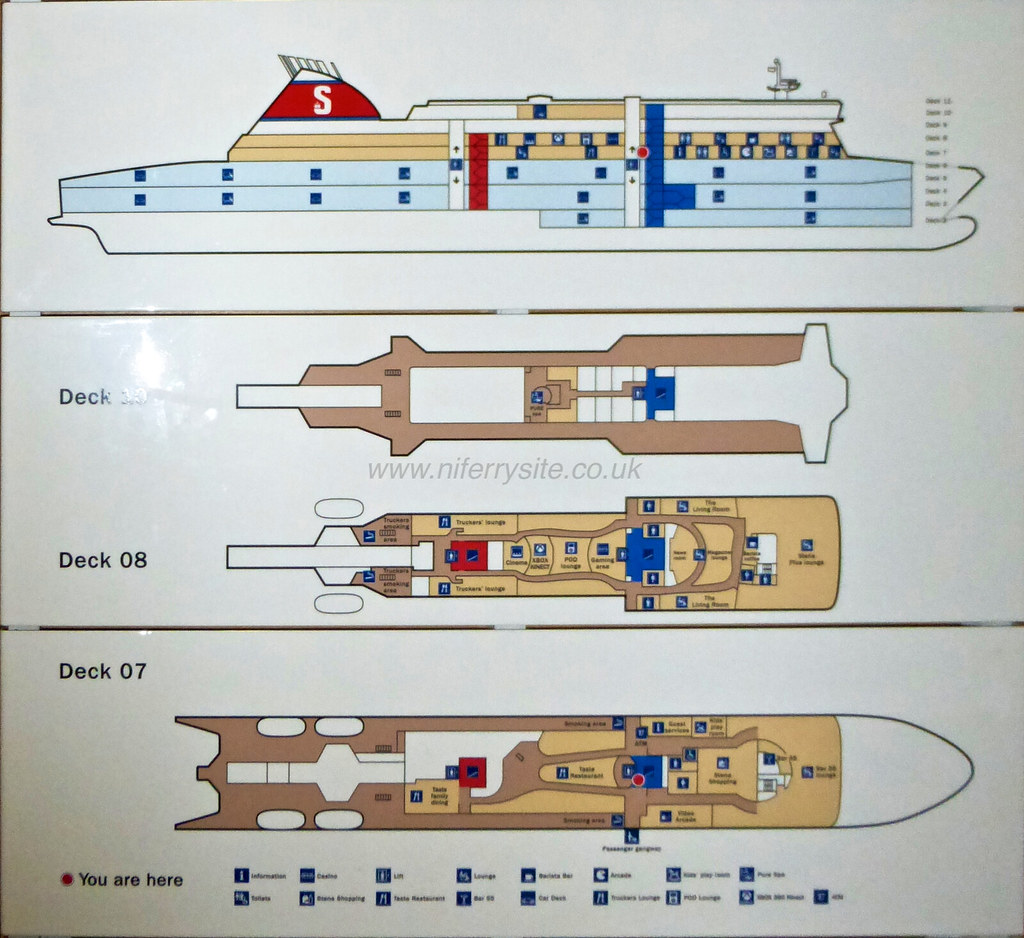 Stena Superfast VIII deck plan   Steven   Flickr