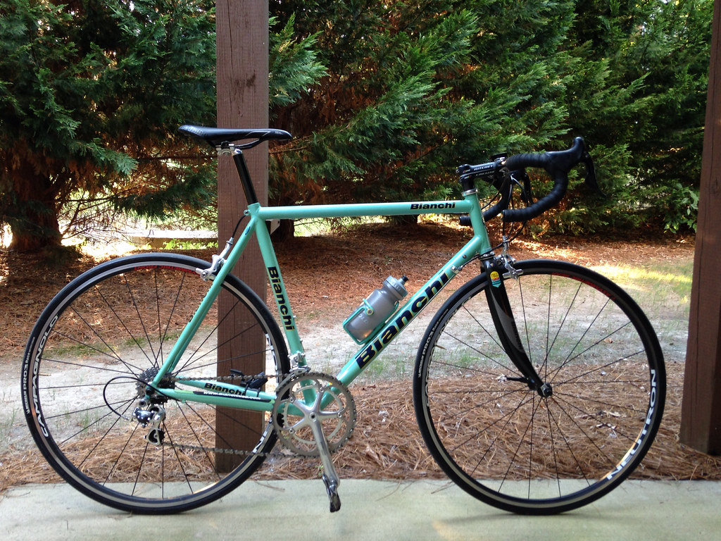 2002 bianchi xl titanium 2002 bianchi xl titanium size 59 flickr. Black Bedroom Furniture Sets. Home Design Ideas