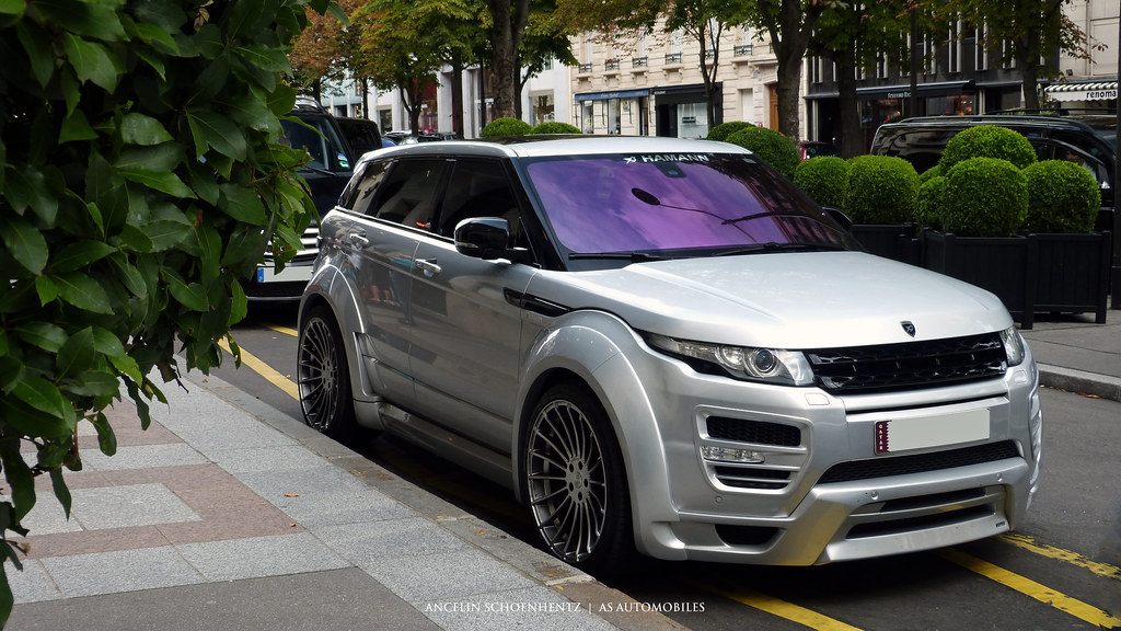 range rover evoque by hamann a s automobiles flickr. Black Bedroom Furniture Sets. Home Design Ideas