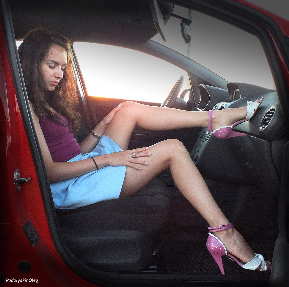 Opel Corsa And A Girl Oleg Flickr